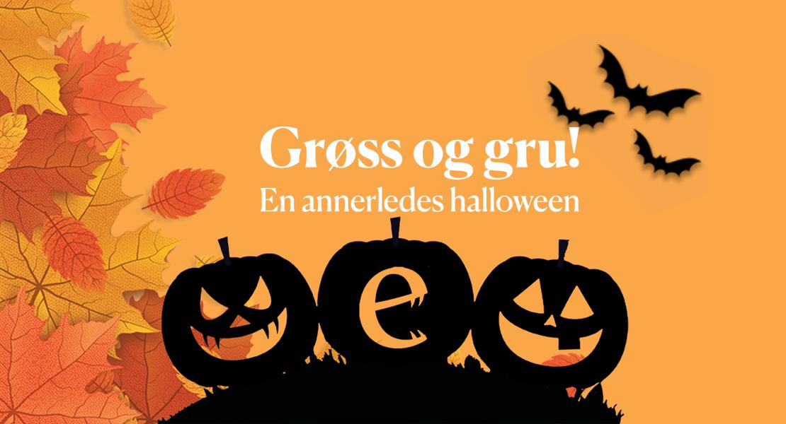 Halloween lydbøker barn